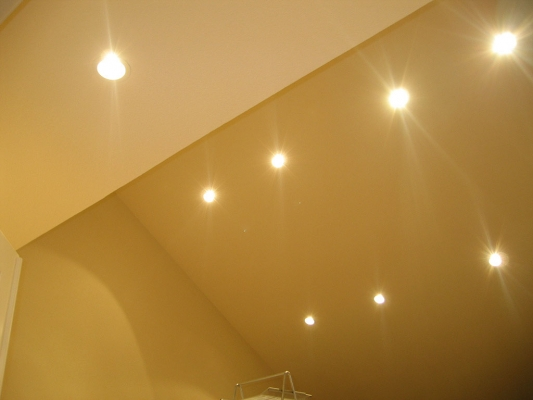 Led Recessed Lighting For Vaulted Ceiling : Can lights for vaulted ceilings ceiling tiles